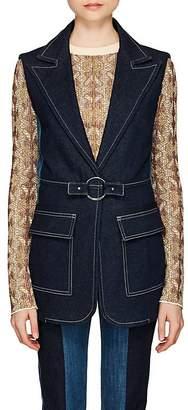 Chloé Women's Patchwork Denim Vest