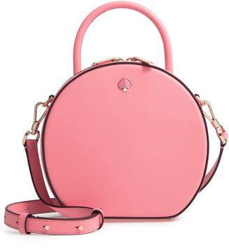 c42cafa31028 Kate Spade Pink Leather Crossbody Handbags - ShopStyle