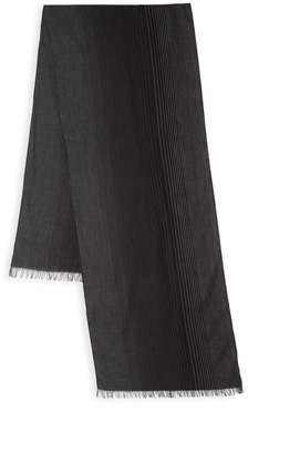John Varvatos Ombre Silk-Blend Scarf