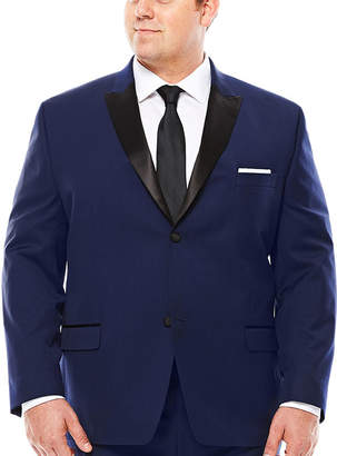 COLLECTION Collection by Michael Strahan Satin Peak Tuxedo Jacket - Big & Tall