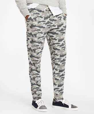Brooks Brothers French Terry Camo Sweatpants