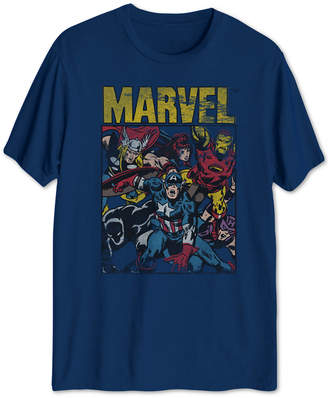 Hybrid Marvel The Avengers Men Graphic T-Shirt