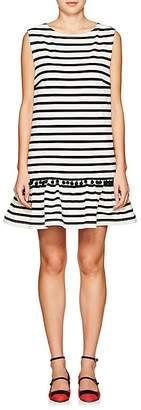 Marc Jacobs Women's Striped Cotton Sleeveless Shift Dress