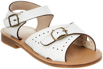 L'amour Girls' Buckle Leather Sandal