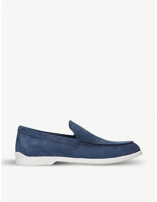 Tod's Tods Two-tone suede loafers