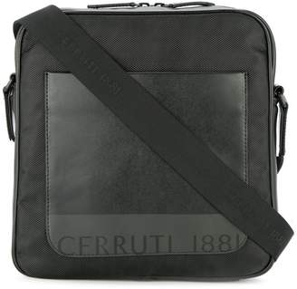 Cerruti front pocket messenger bag