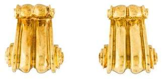 Lagos 18K Scroll Earrings