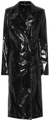 Haider Ackermann Vinyl coat