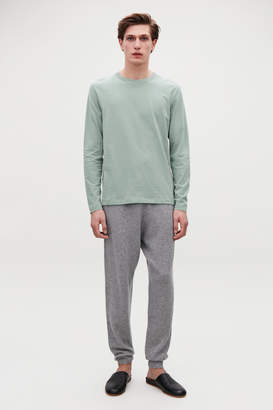 Cos LONG-SLEEVED COTTON T-SHIRT