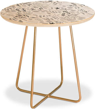 Deny Designs Floral Goodness Iii Side Table