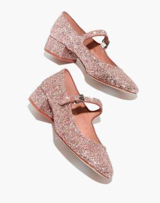 Madewell The Delilah Mary Jane in Glitter