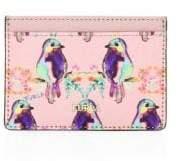 Furla Babylon Bird Print Leather Cardholder