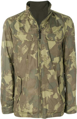 Woolrich camouflage print jacket