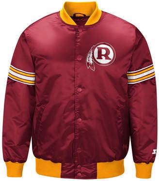 Redskins G-iii Sports Men Washington Draft Pick Starter Satin Jacket