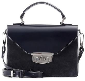 Ganni Gallery Accessories suede shoulder bag