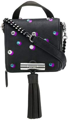 Kenzo embellished tassel shoulder bag