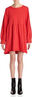 Semi-Couture Semicouture Solid Sweatshirt Dress