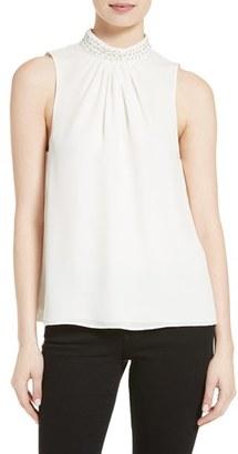 Women's Parker Karmela Silk Shell $198 thestylecure.com
