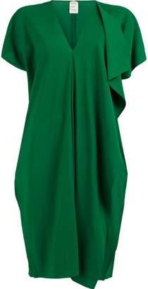 Maison Rabih Kayrouz wrap-style midi dress