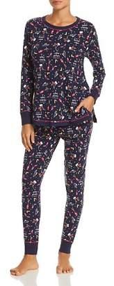 Jane & Bleecker New York New Years Eve Knit Pajama Set