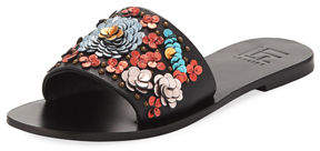 Lfl By Lust For Life Live Flower Flat Sandal