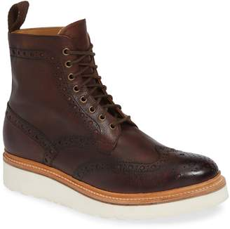 Grenson Fred V Wingtip Boot