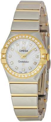 Omega Women's 123.25.24.60.55.004 Constellation '09 Diamond Bezel Dial Watch