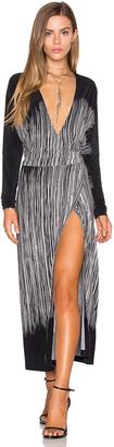 Norma Kamali Dolman Wrap Dress $260 thestylecure.com