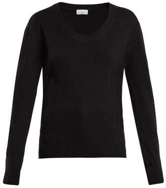 Raey - Darted Scoop Neck Cashmere Sweater - Womens - Black