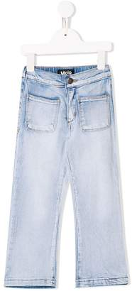 Molo exposed pocket jeans