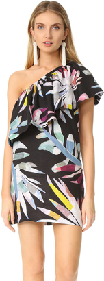 Mara Hoffman One Shoulder Mini Dress $325 thestylecure.com