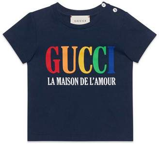 Gucci Baby T-shirt with print