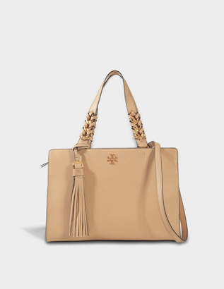 Tory Burch Brooke Satchel Bag in Savannah Leather