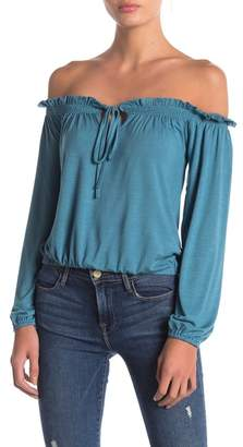 Anama Off-The-Shoulder Knit Top