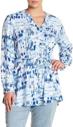 Melissa McCarthy Pintuck Rhythm Blouse (Plus Size)