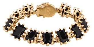 Eddie Borgo Crystal Link Bracelet