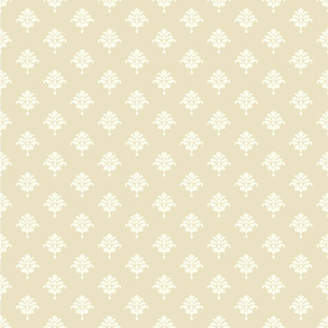 York Wall Coverings York Wallcoverings Waverly Cottage 33' x 20.5 Bling Damask Wallpaper Roll