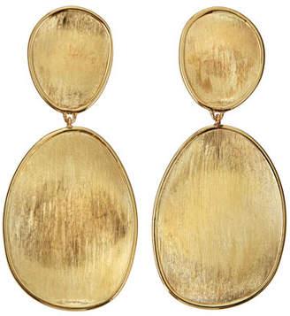 Marco Bicego Lunaria 18k Gold Double-Drop Earrings