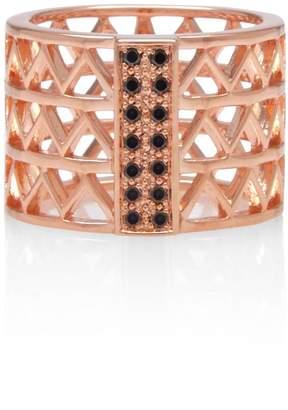 Black Diamond Alexandra Alberta - Guggenheim Ring