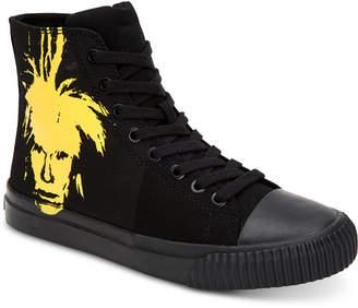 Calvin Klein Jeans Men's Iconic Warhol Print Sneakers Men's Shoes