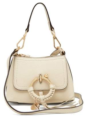 See by Chloe Joan Mini Leather Cross Body Bag - Womens - Cream
