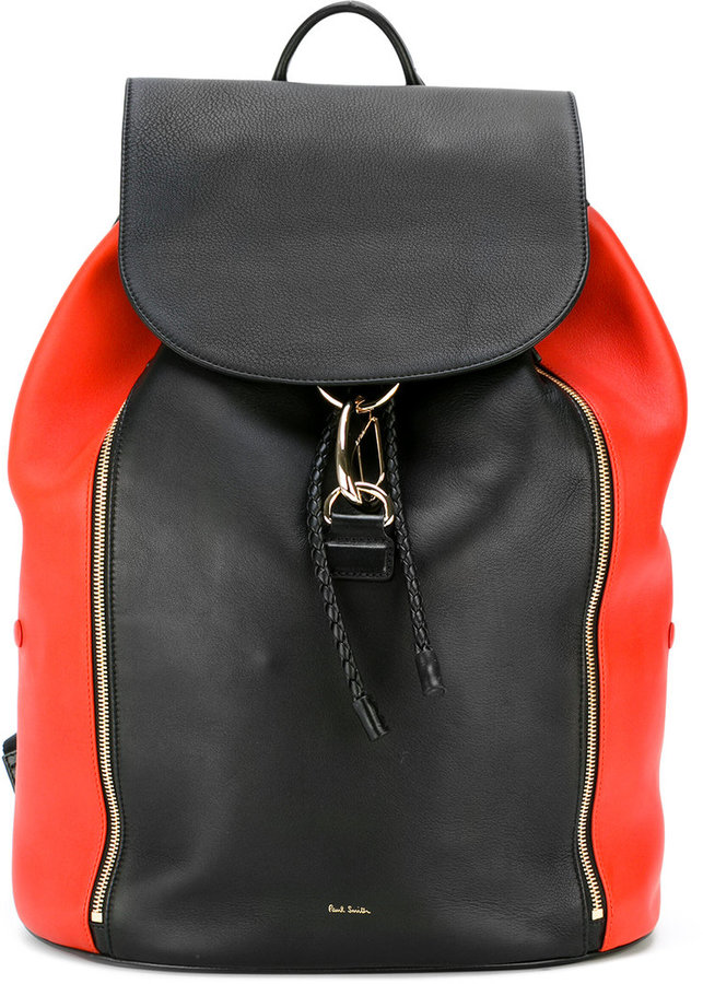 Paul Smith Paul Smith Jeans side zip backpack