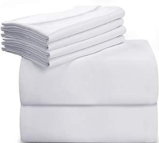Utopia Bedding 6-Piece Bed Sheet Set (Queen