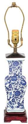 Lamp Antique-Style Ceramic Chinoiserie Lamp