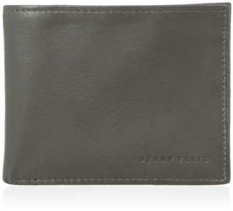 Perry Ellis Men's Connecticut Slim Wallet