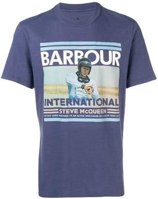Barbour photo print T-shirt