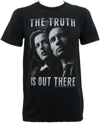Scully T-Line X-FILES Mens Mulder And The Truth Is Out There T-Shirt