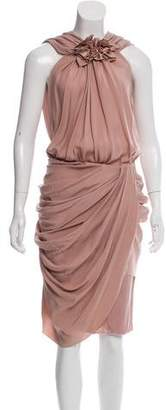 Vionnet Silk Midi Dress