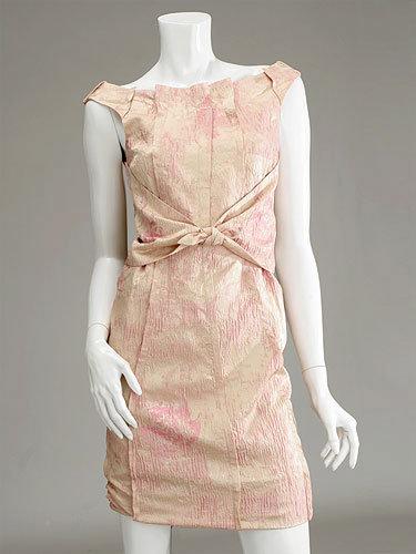 Richard Chai Front Tie Dress