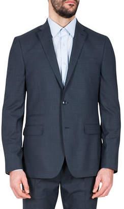Kenneth Cole Reaction Plaid Suit Jacket